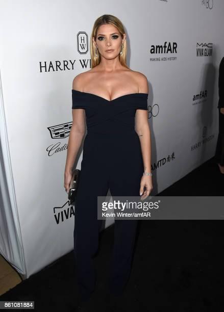 Actor Ashley Greene attends the amfAR Gala Los Angeles 2017 at Ron Burkle's Green Acres Estate on October 13 2017 in Beverly Hills California