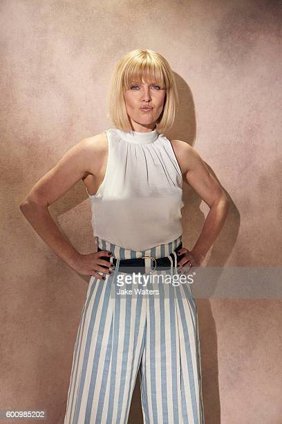 Actor Ashley Jensen is photographed for Fabric magazine on April 26 2016 in London England