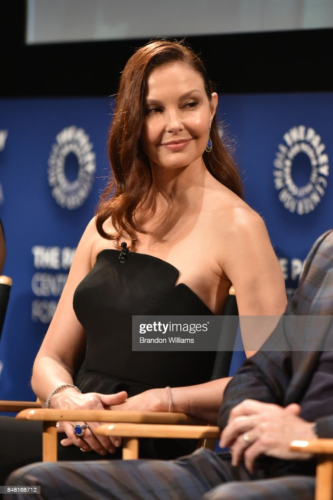 Actor Ashley Judd speaks on a panel during The Paley Center For Media's 11th Annual PaleyFest Fall TV Previews for EPIX at The Paley Center for Media on September 16, 2017 in Beverly Hills, California.