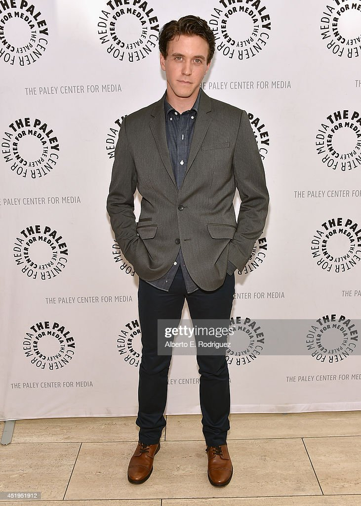 Actor Ashley Zuckerman attends The Paley Center For Media Presents An Evening With WGN America's 'Manhattan' at The Paley Center for Media on July 9, 2014 in Beverly Hills, California.