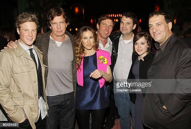 Actor Ashton Homes actor Thomas Haden Church actress Sarah Jessica Parker actor Dennis Quaid writer Mark Poirier actress Ellen Page and director Noam...