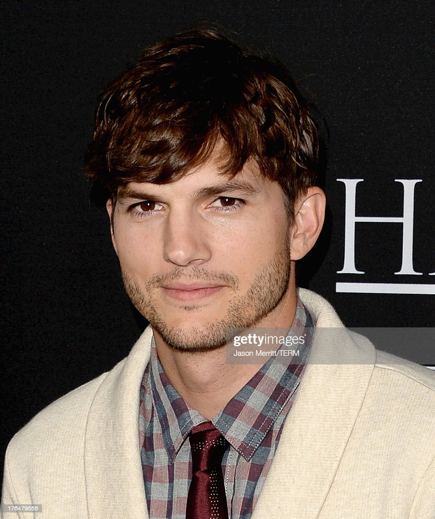 screening of open road films and five star feature films actor ashton kutcher arrives at the screening of open road films and five star feature films