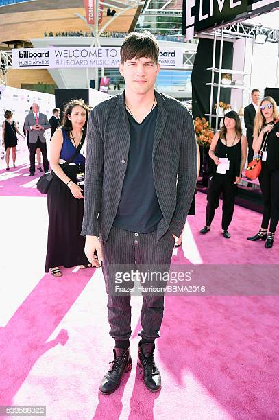 Actor Ashton Kutcher attends the 2016 Billboard Music Awards at TMobile Arena on May 22 2016 in Las Vegas Nevada