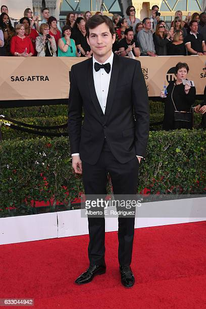 Actor Ashton Kutcher attends the 23rd Annual Screen Actors Guild Awards at The Shrine Expo Hall on January 29 2017 in Los Angeles California