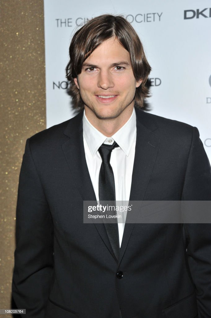 Actor <a gi-track='captionPersonalityLinkClicked' href=/galleries/search?phrase=Ashton+Kutcher&family=editorial&specificpeople=202015 ng-click='$event.stopPropagation()'>Ashton Kutcher</a> attends the Cinema Society with DKNY Jeans & DeLeon Tequila screening of 'No Strings Attached' at the Tribeca Grand Hotel on January 20, 2011 in New York City.