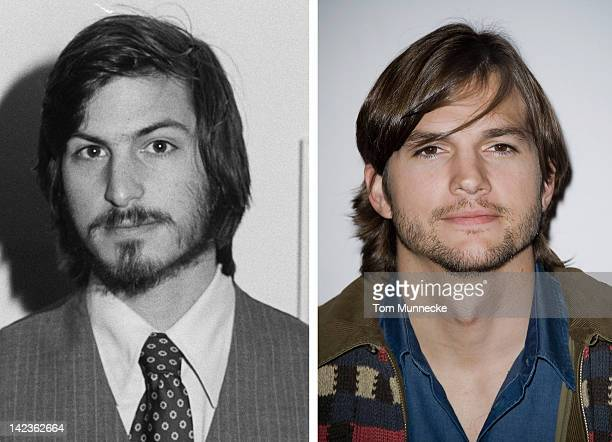 In this composite image a comparison has been made between Steve Jobs and actor Ashton Kutcher Ashton Kutcher will reportedly play Steve Jobs in a...