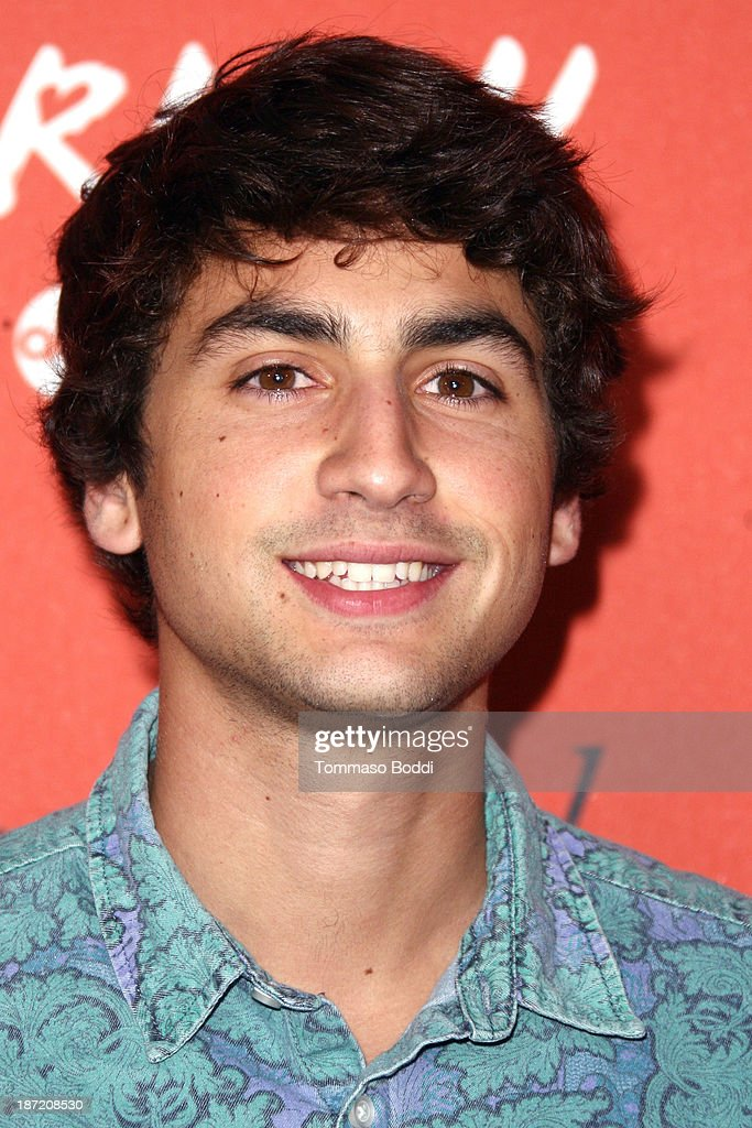 Actor Ashton Moio attends the 'Crush' By ABC Family Fashion launch held at The London Hotel on November 6, 2013 in West Hollywood, California.