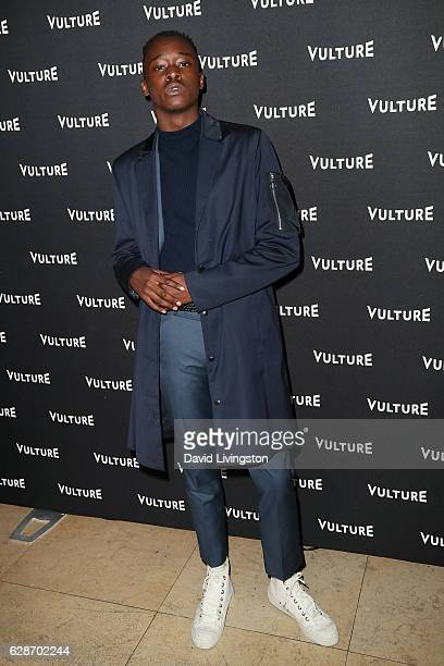 Actor Ashton Sanders arrives at the Vulture Awards Season Party at the Sunset Tower Hotel on December 8 2016 in West Hollywood California