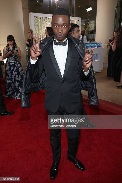 Actor Ashton Sanders at the 74th annual Golden Globe Awards sponsored by FIJI Water at The Beverly Hilton Hotel on January 8 2017 in Beverly Hills...