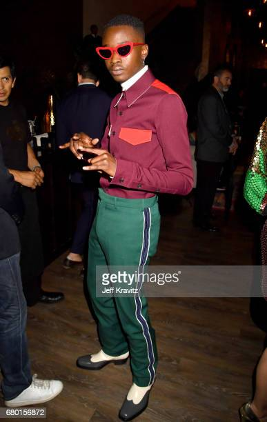 Actor Ashton Sanders attends the 2017 MTV Movie And TV Awards at The Shrine Auditorium on May 7 2017 in Los Angeles California