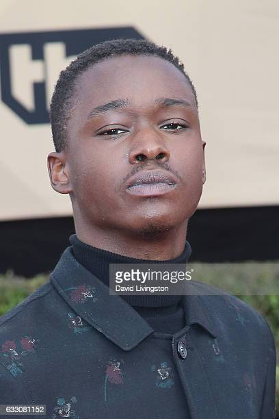 Actor Ashton Sanders attends the 23rd Annual Screen Actors Guild Awards at The Shrine Expo Hall on January 29 2017 in Los Angeles California