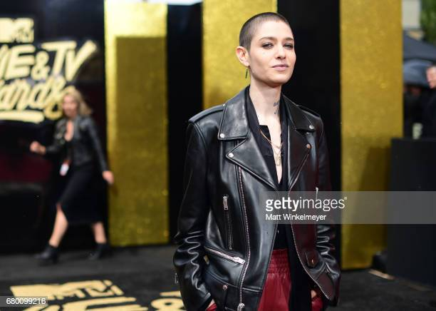 Actor Asia Kate Dillon attends the 2017 MTV Movie And TV Awards at The Shrine Auditorium on May 7 2017 in Los Angeles California