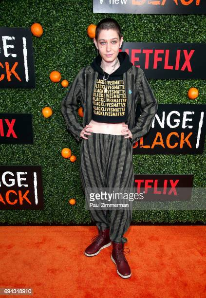 Actress Asia Kate Dillon attends the 'Orange Is The New Black' Season 5 Celebration at Catch on June 9 2017 in New York City