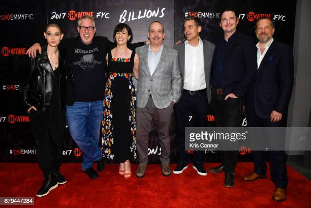 Actor Asia Kate Dillon Executive Producer Brian Koppelman Actor Maggie Siff actor Paul Giamatti Executive Producer David Levien actor Toby Leonard...