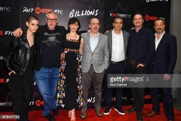 Actor Asia Kate Dillon Executive Producer Brian Koppelman Actor Maggie Siff actor Paul Giamatti Executive Producer David Levien actor Toby Leonard...