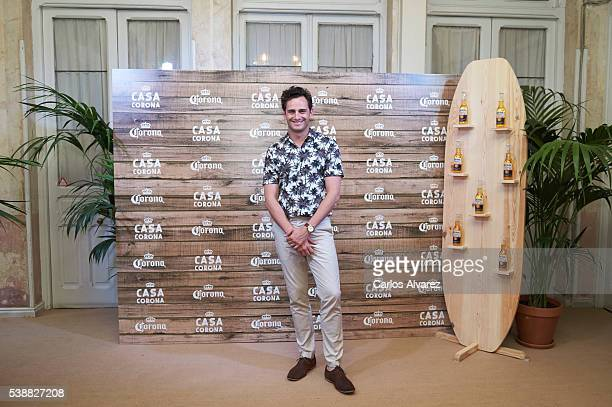 Actor Asier Etxeandia attends 'Casa Corona' inauguration on June 8 2016 in Madrid Spain
