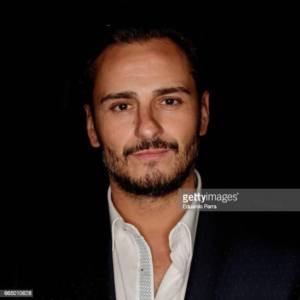 Actor Asier Etxeandia attends the 'El Pelotari y la Fallera' premiere at Callao cinema on April 5 2017 in Madrid Spain