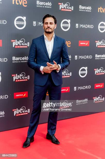 Actor Asier Etxeandia attends the 'Platino Awards 2017' presentation at the Madrid City Hall on April 4 2017 in Madrid Spain