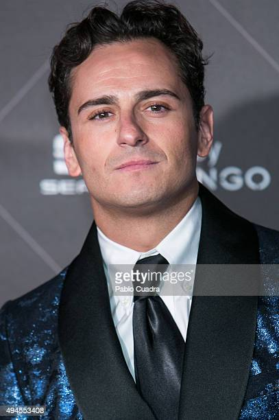 Actor Asier Etxeandia attends VIII Cosmopolitan Fun Fearless Female Awards at Ritz hotel on October 27 2015 in Madrid Spain
