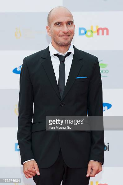 Actor Assi Cohen poses at the Seoul International Drama Awards 2013 at National Theater on September 5 2013 in Seoul South Korea