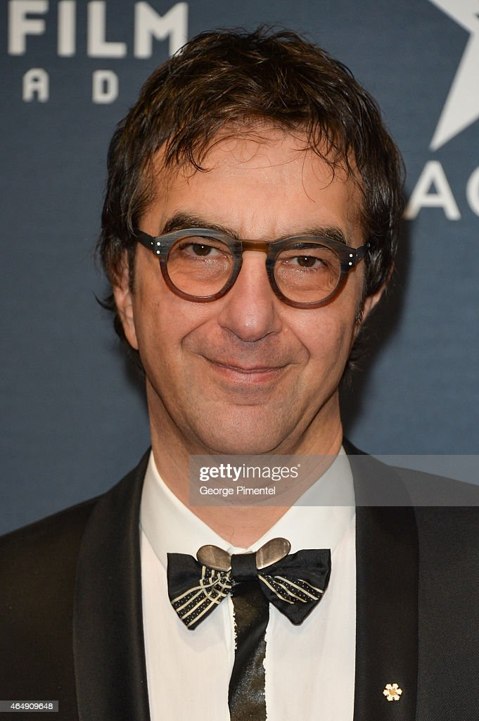 Actor <a gi-track='captionPersonalityLinkClicked' href=/galleries/search?phrase=Atom+Egoyan&family=editorial&specificpeople=215428 ng-click='$event.stopPropagation()'>Atom Egoyan</a> arrives at the 2015 Canadian Screen Awards at the Four Seasons Centre for the Performing Arts on March 1, 2015 in Toronto, Canada.