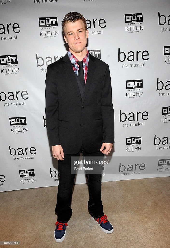 Actor attends 'BARE The Musical' Opening Night After Party at Out Hotel on December 9, 2012 in New York City.