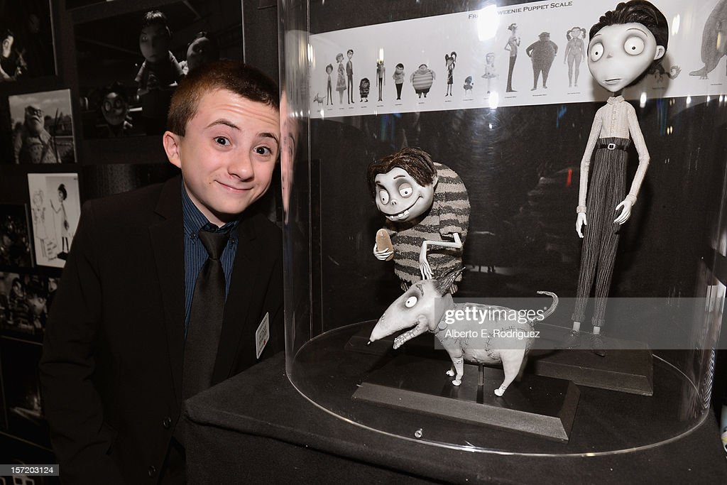 Actor Atticus Shaffer attends Walt Disney Studios 2012 animation celebration at The Beverly Hills Hotel on November 29, 2012 in Beverly Hills, California.