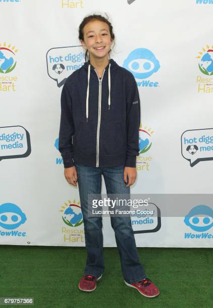 Actor Aubrey AndersonEmmons attends 'Celebrities To The Rescue' at CBS Studios on May 6 2017 in Los Angeles California