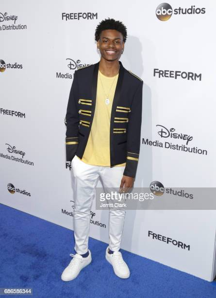 Actor Aubrey Joseph attends the 2017 ABC/Disney Media Distribution International Upfront at Walt Disney Studio Lot on May 21 2017 in Burbank...
