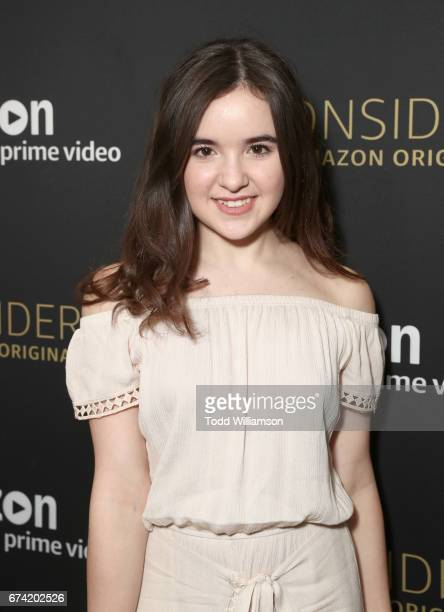Actor Aubrey K Miller attends Amazon Studios Emmy 'For Your Consideration' event held at The Hollywood Athletic Club on April 27 2017 in Hollywood...