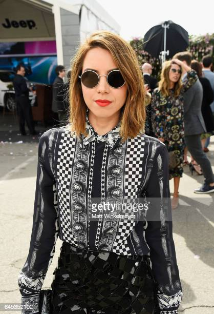 Actor Aubrey Plaza attends the 2017 Film Independent Spirit Awards at the Santa Monica Pier on February 25 2017 in Santa Monica California