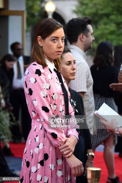 Actor Aubrey Plaza attends the Closing Night Screening of 'Ingrid Goes West' during the 2017 Los Angeles Film Festival at ArcLight Cinemas Culver...