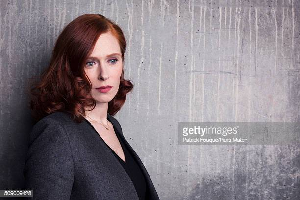 Actor Audrey Fleurot is photographed for Paris Match on January 14 2016 in Paris France