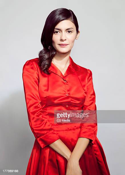 Actor Audrey Tautou is photographed on September 12 2012 in Toronto Ontario