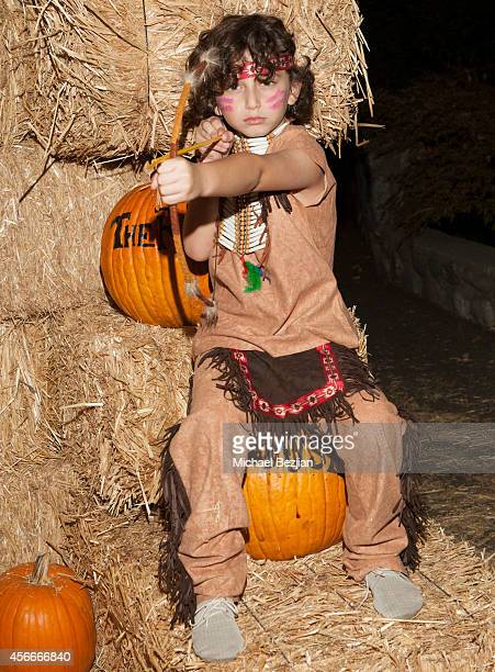 Actor August Maturo attends 'Rise Of The Jack O'Lanterns' Los Angeles Premiere at Descanso Gardens on October 4 2014 in La CanadaFlintridge California