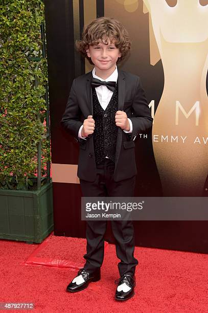 Actor August Maturo attends the 2015 Creative Arts Emmy Awards at Microsoft Theater on September 12 2015 in Los Angeles California