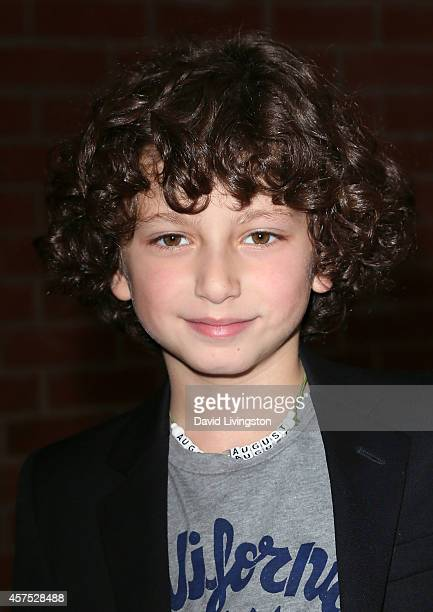 Actor August Maturo attends the Elizabeth Glaser Pediatric AIDS Foundation's 25th Annual 'A Time for Heroes' celebration at The Bookbindery on...