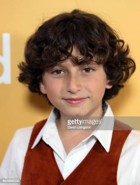 Actor August Maturo attends the premiere of Fox Searchlight Pictures' 'Gifted' at Pacific Theaters at The Grove on April 4 2017 in Los Angeles...