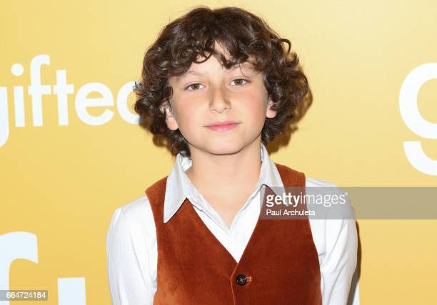 Actor August Maturo attends the premiere of 'Gifted' at Pacific Theaters at the Grove on April 4 2017 in Los Angeles California