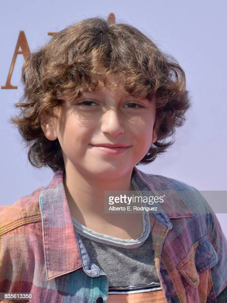 Actor August Maturo attends the premiere of The Weinstein Company's 'Leap' at the Pacific Theatres at The Grove on August 19 2017 in Los Angeles...