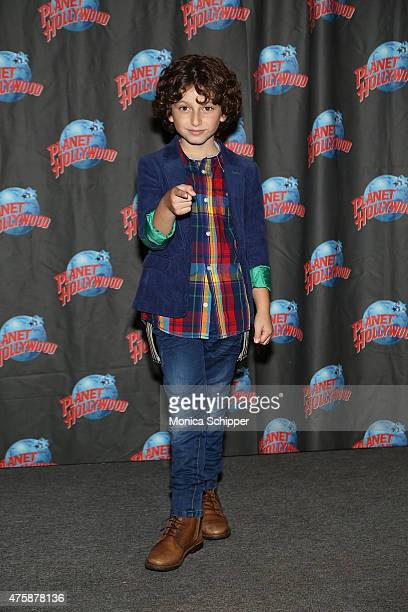 Actor August Maturo visits Planet Hollywood Times Square on June 4 2015 in New York City