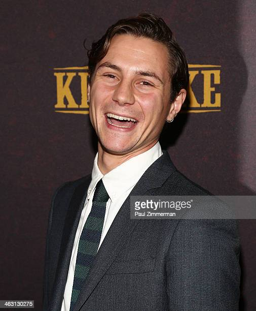 Actor Augustus Prew attends the 'Klondike' series premiere at Best Buy Theater on January 16 2014 in New York City
