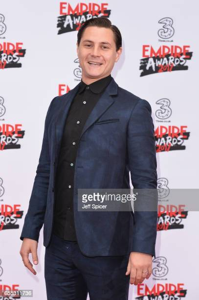 Actor Augustus Prew attends the THREE Empire awards at The Roundhouse on March 19 2017 in London England