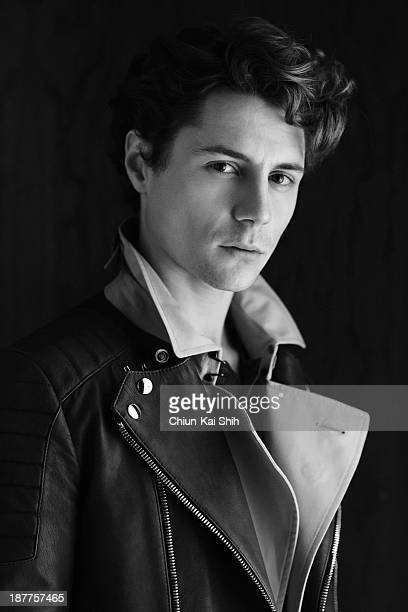 Actor Augustus Prew is photographed for August Man on May 31 2013 in New York City