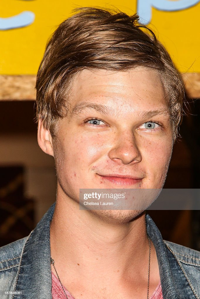 Actor <a gi-track='captionPersonalityLinkClicked' href=/galleries/search?phrase=Austin+Anderson&family=editorial&specificpeople=5083688 ng-click='$event.stopPropagation()'>Austin Anderson</a> arrives at A Country Christmas VIP screening hosted by miss Caitlin Carmichael to benefit Alex's Lemonade Stand on November 12, 2013 in Los Angeles, California.