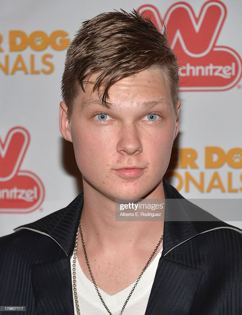 Actor Austin Anderson arrives to the Premiere of 'Wiener Dog Nationals' at Pacific Theatre at The Grove on June 18, 2013 in Los Angeles, California.