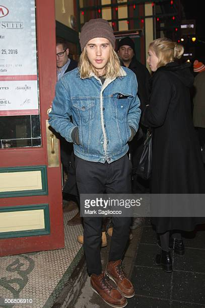 Actor Austin Butler is seen around town at the Sundance Film Festival on January 25 2016 in Park City Utah