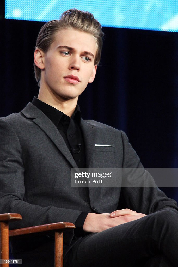 Actor Austin Butler of the TV show 'The Carrie Diaries' attends the 2013 TCA Winter Press Tour CW/CBS panel held at The Langham Huntington Hotel and Spa on January 13, 2013 in Pasadena, California.