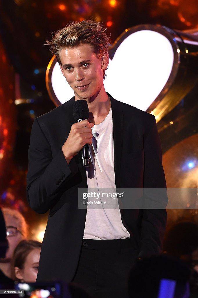 Actor Austin Butler speaks onstage at the MTV Fandom Awards San Diego at PETCO Park on July 21, 2016 in San Diego, California.