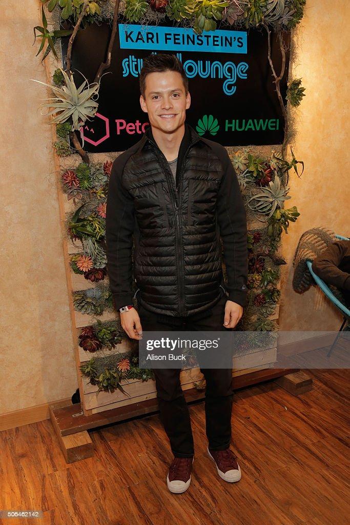Actor Austin Lyon attends Kari Feinstein's Style Lounge on January 23 ...
